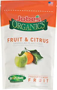 Jobe's Organics 9221 Fruit & Citrus Granular Fertilizer ,1.5 lbs.