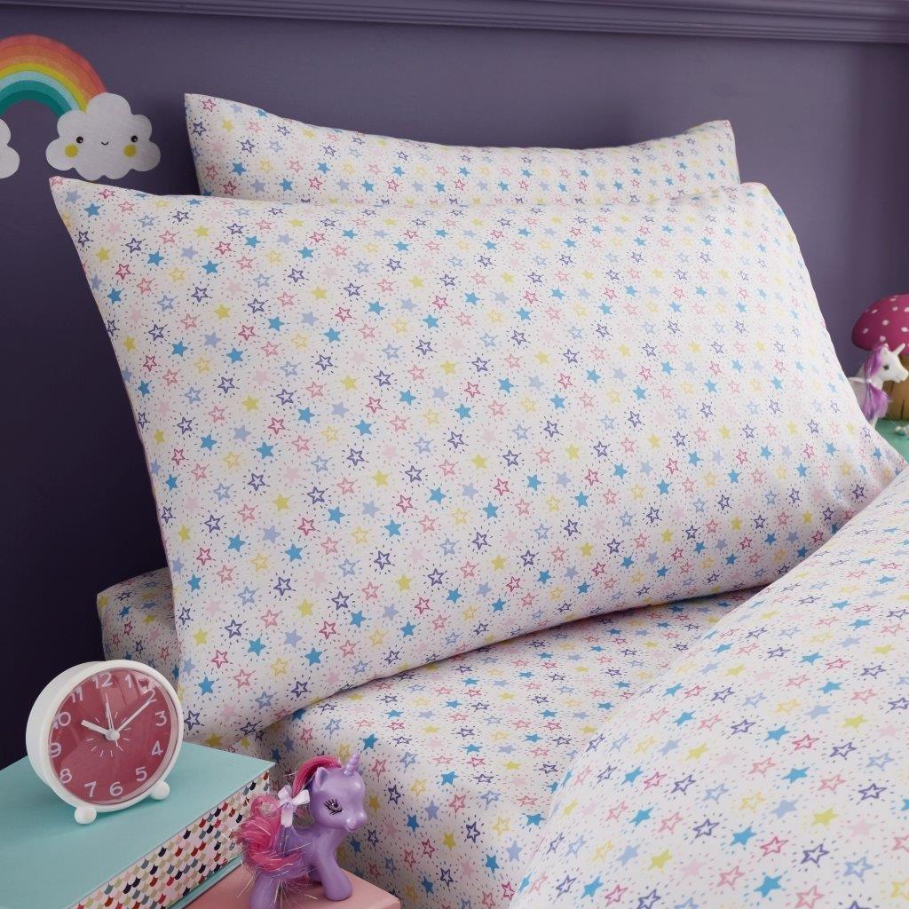 Bettdeckenbezug mit Kissenbezug Bettdeckenbezug und Spannbetttuch Astronaut Lifestyle Production/® Bettw/äsche-Set f/ür Kinder Duvet Set+Fitted Sheet Spannbetttuch