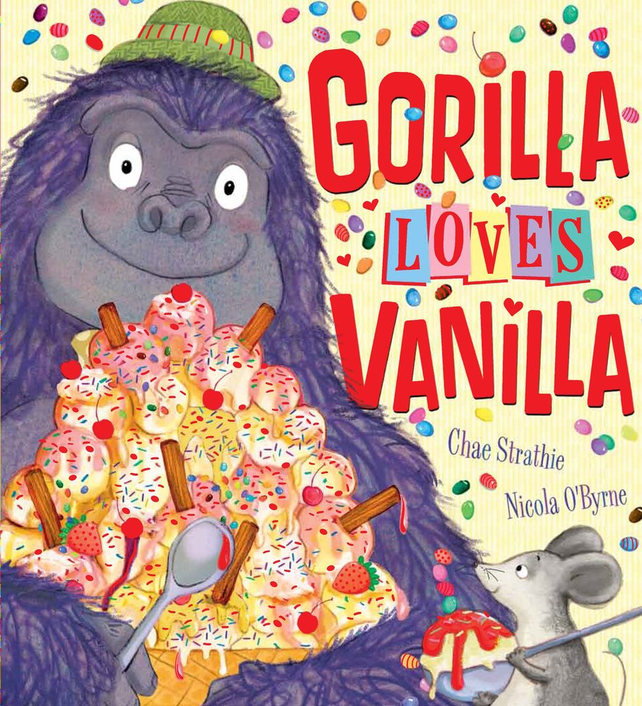 Image result for gorilla loves vanilla book