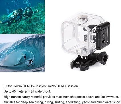 Kupton Accesorios para GoPro Hero 5 Session Videocámara de Acción ...