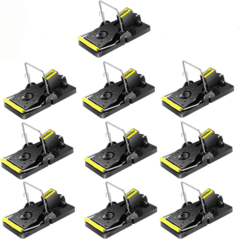 Wakana Reutilizable Trampa Ratones Alta Sensibilidad, Paquete de 10