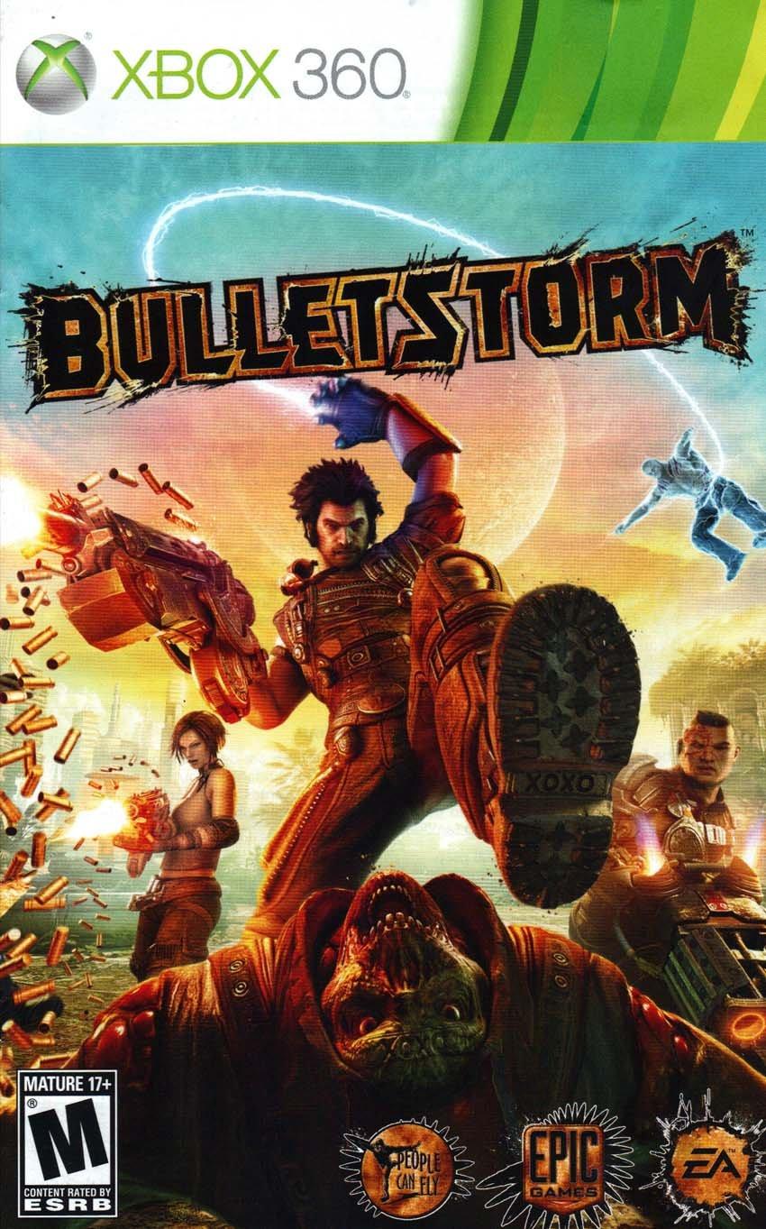 Bulletstorm XBox 360 Instruction Booklet (Microsoft XBox 360 Manual Only)  (Microsoft XBox Manual): Amazon.com: Books