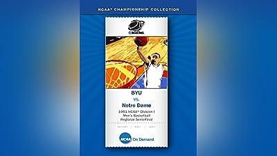 1981 NCAA(r) Division I Men's Basketball Regional Semi-Final - BYU vs. Notre Dame