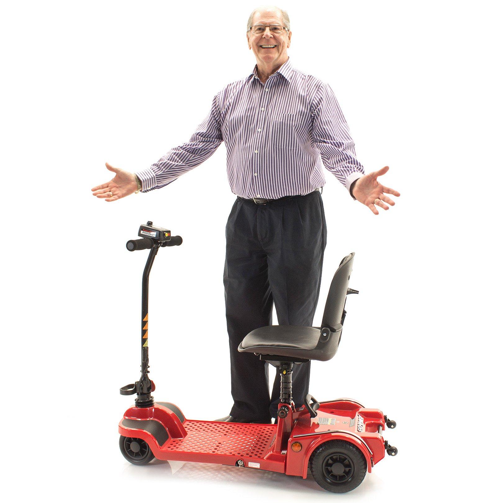 Echo Folding Scooter Shoprider Travel Mobility (GREY)