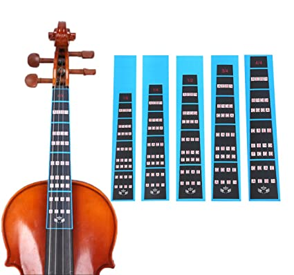 Hot Sale Guitar Fretboard Note Decals Fingerboard Sticker Fret Guide Label Finger Chart Practice Fit Violin Finger Guide Acoustic Guitar Reputation First Musical Instruments