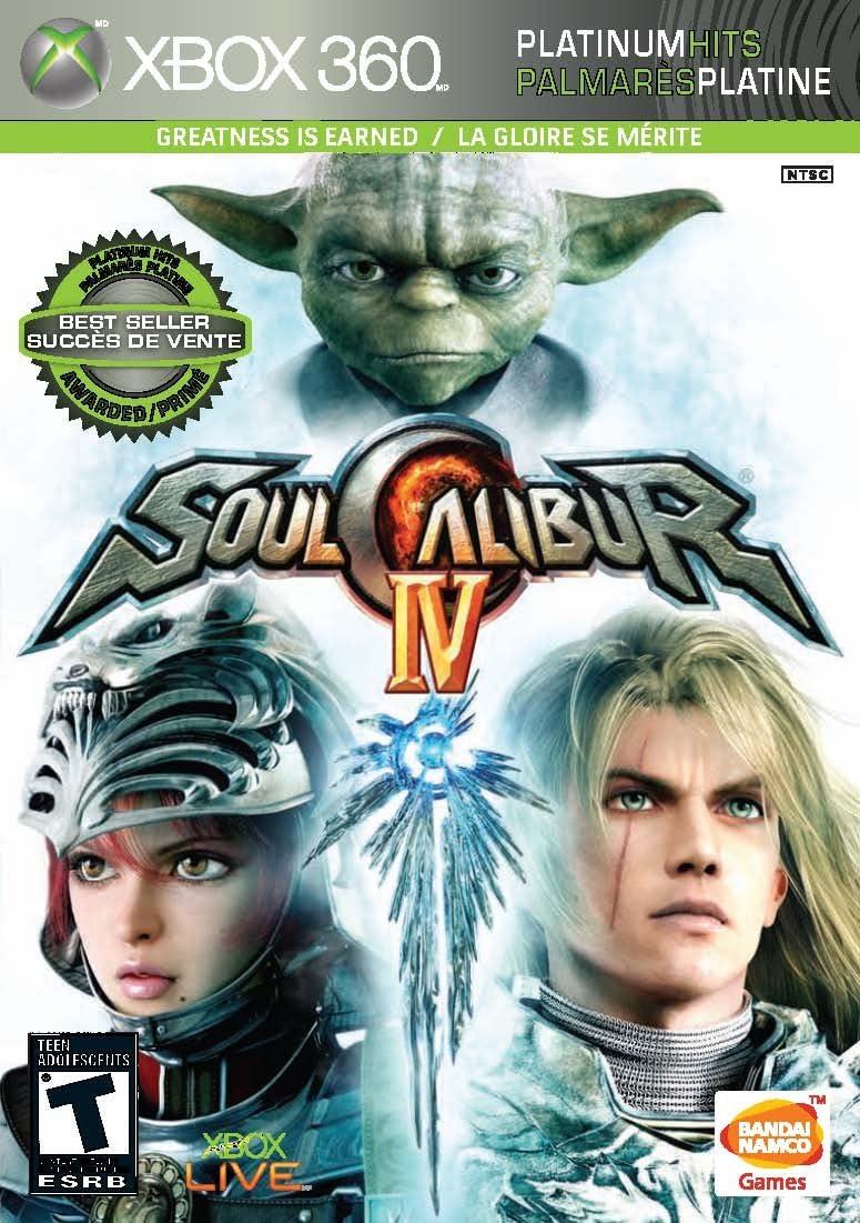 Namco Bandai Games Soul Calibur IV, Xbox 360 Xbox 360 Inglés vídeo - Juego (Xbox 360, Xbox 360, Lucha, Modo multijugador, T (Teen)): Amazon.es: Videojuegos