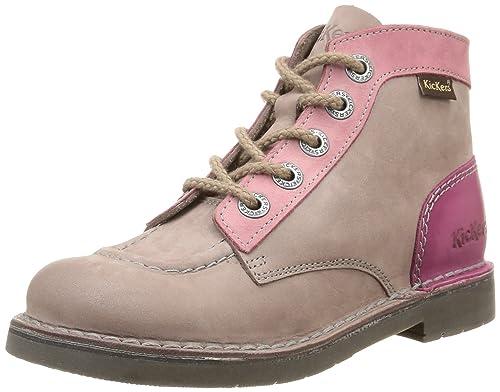 prix de liquidation prix plus bas avec braderie Kickers Col, Chaussures Hautes Classiques Fille