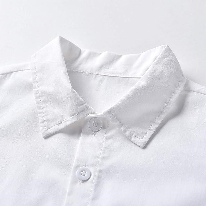 MSemis Conjuntos Niña Verano Camisa Blanca Manga Corta+Falda ...