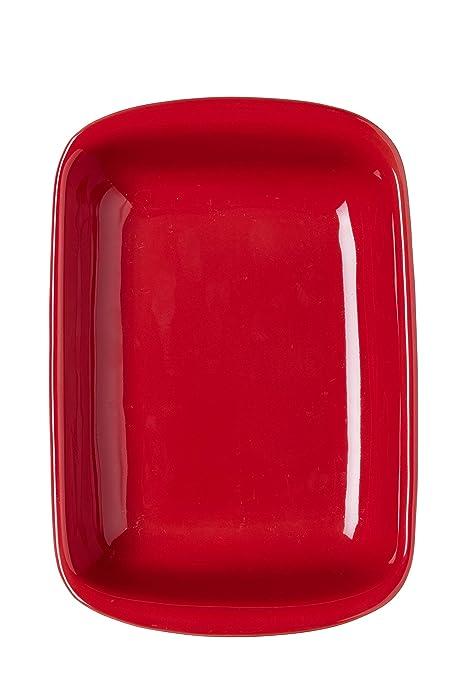 Pyrex Supreme Fuente para horno Cerámica, rojo: Amazon.es: Hogar
