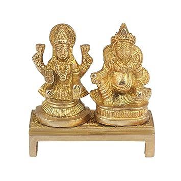 e3407216be19 Onvay laxmi kuber Idol   hindu god laxmi kuber statue idol murti ( 7 x 6.5