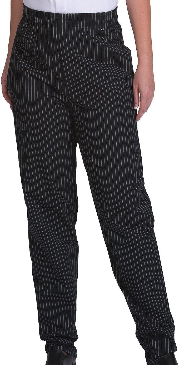 Edwards Garment Mens Ultimate Baggy Waist Comfortable Chef Pant
