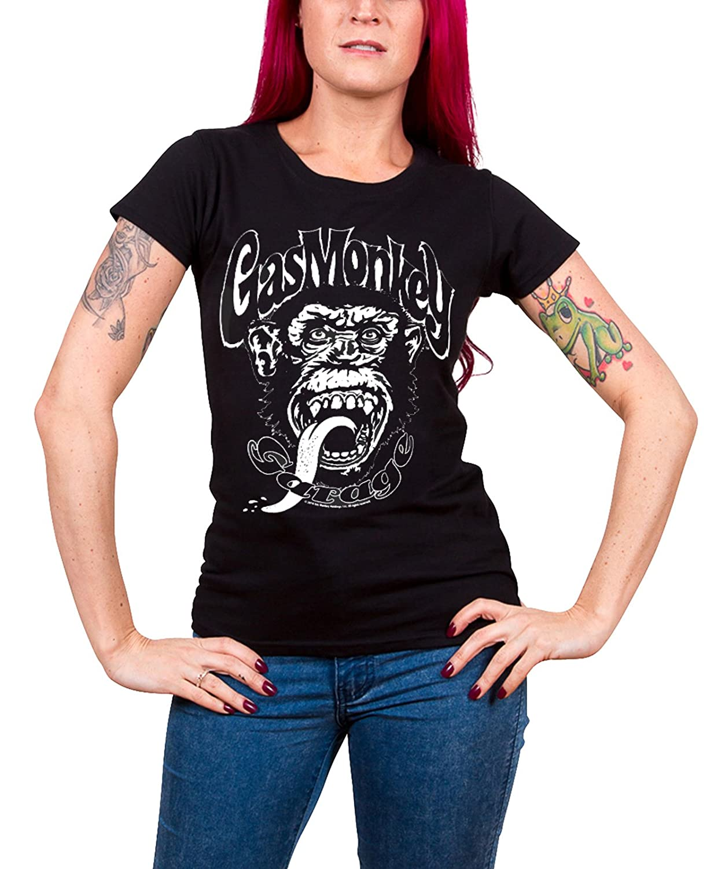 Neu und Offiziell Gas Monkey Garage Property of GMG Dallas T-Shirt