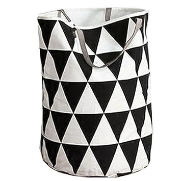 Charmant SuperHouse Waterproof Canvas Storage Bin Bag Basket For Nursery Or Kids  Room,Storage Bag For