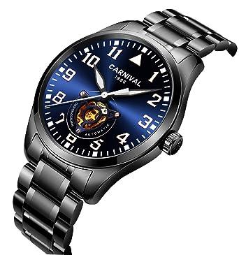 Amazon.com: Reloj analógico automático para hombre, reloj ...