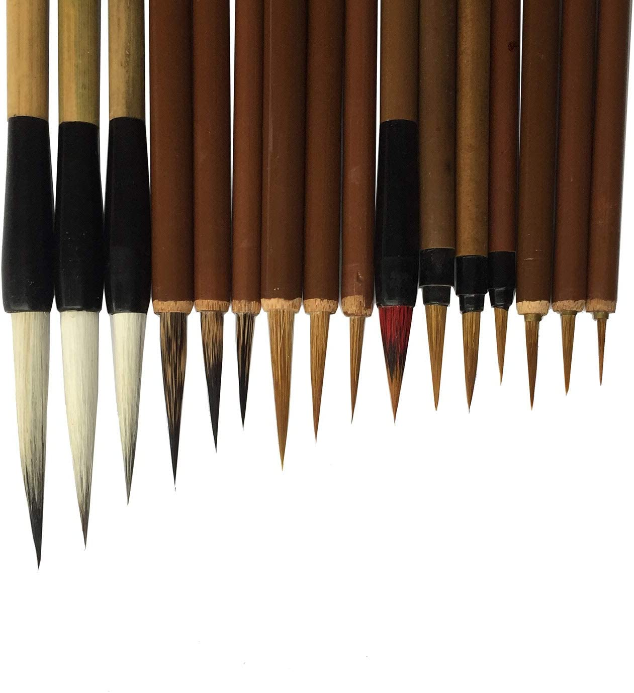 16-piece Set Chinese Writing Brush for Professional Calligrapy /& Painting