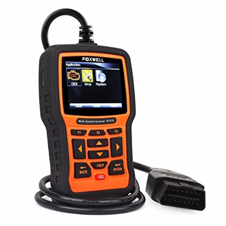 Foxwell Nt For Ford F  Obd Diagnostic Reader Erase Error Code Scanner Tester Srs