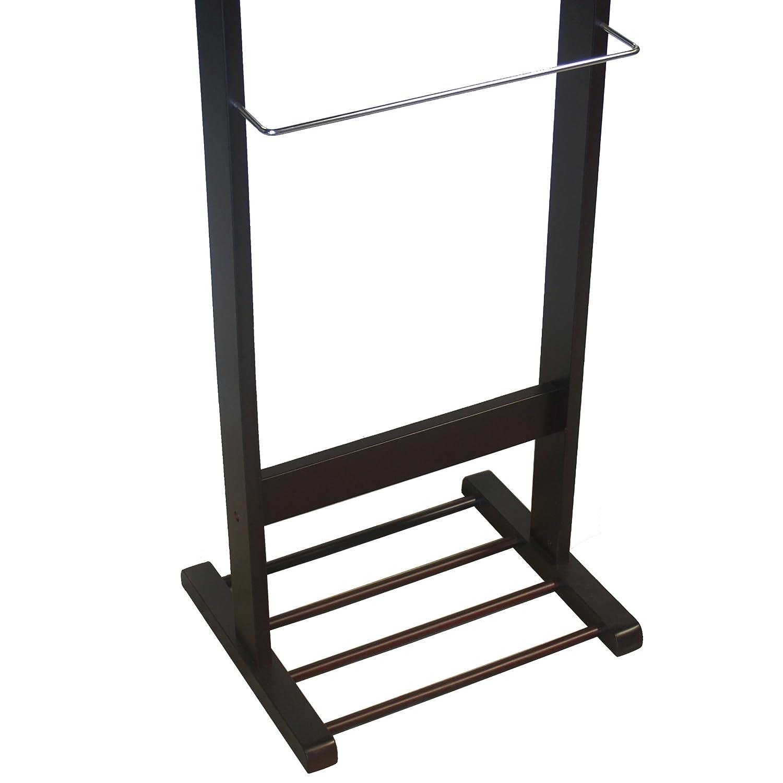 Mirror Valet Stand, Proman Products Trojan Walnut