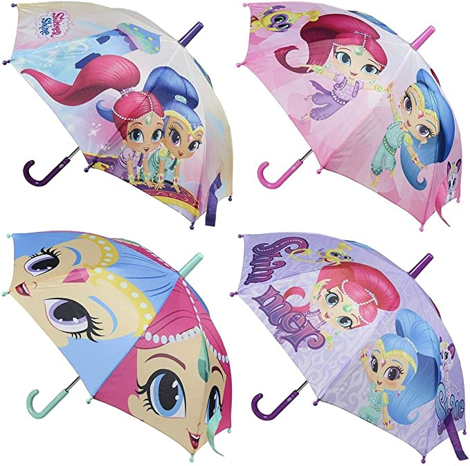 Shimmer And Shine Paraguas manual medida 40 cm: Amazon.es: Ropa y accesorios