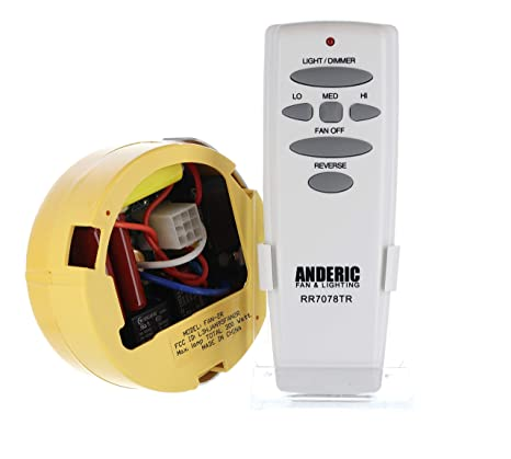Anderic Replacement for MR77A and others - FAN2R & UC7078T with Reverse on