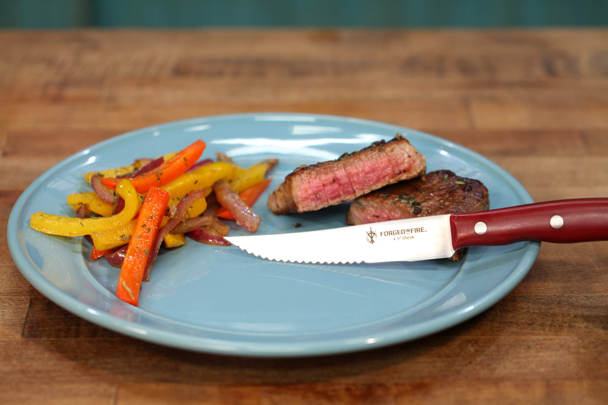 HISTORY - Forged in Fire - 4.5 Inch Steak Knife 6 - Piece Set by Forged in Fire (Image #3)