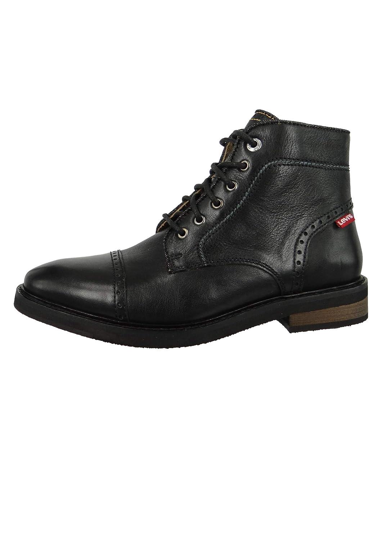 Levi's Mens WOHLFORD Schwarz Boots: : Schuhe