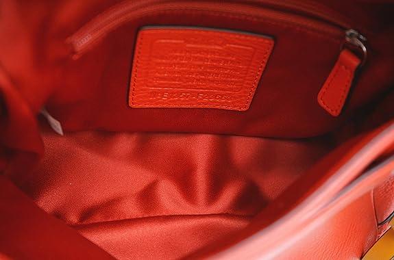79ac412a21b4 Amazon | [コーチ] COACH 2WAY ショルダーバッグ ショルダーポシェット クラッチバッグ レザー レッド 赤 23663 |  ショルダーバッグ