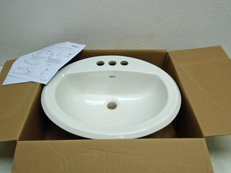 American Standard 0476.028020 White Aqualyn Lavatory