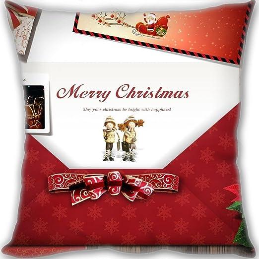Regalos de Navidad dklzy personalizar Navidad sofá cojín ...