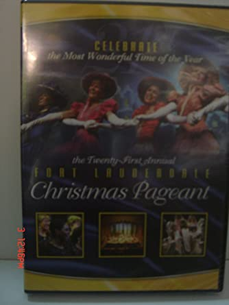 Fort Lauderdale Christmas Pageant 2020 Dvd Amazon.com: The Twenty First Annual Fort Lauderdale Christmas