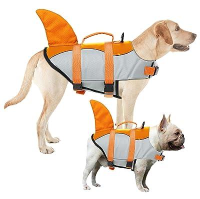 AOFITEE Dog Life Jacket Pet Safety Vest