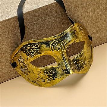 Mascarada,Mascara facialLa Mitad de la Cara máscara príncipe Masculino barón Adulto Callejero Guapo máscara