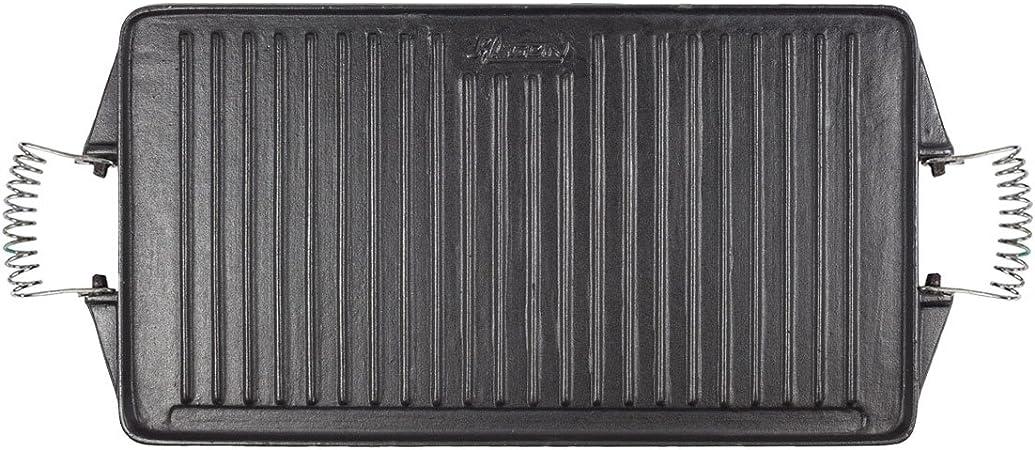 Algon AH52 Plancha de Cocina, 44 x 24 cm, con Doble Cara, Hierro ...
