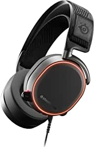 SteelSeries Arctis PRO ChatMix Dial, 40, 000Hz Hi-Res, Surround Sound DTS Headphone, RGB Illuminated PC Gaming Headset | 61486 (PS4)