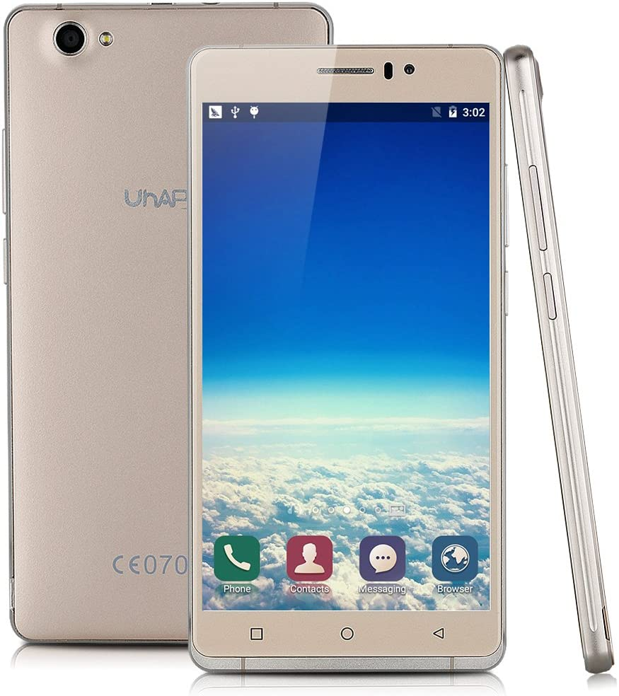 UHAPPY UP580 - Smartphone Libre 3g Android 5.1 (6,0