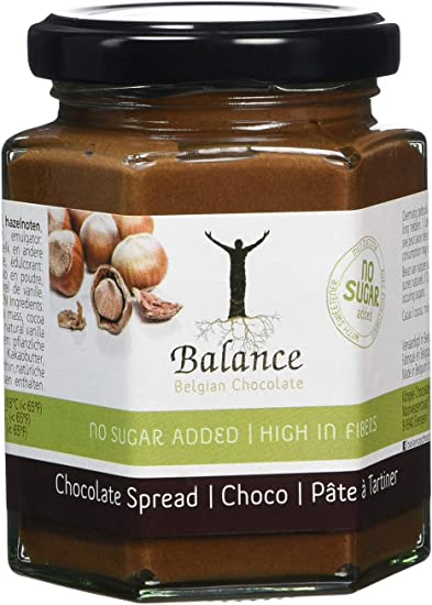 Balance No Added Sugar Chocolate Spread With Hazelnuts 180 G Pack Of 3