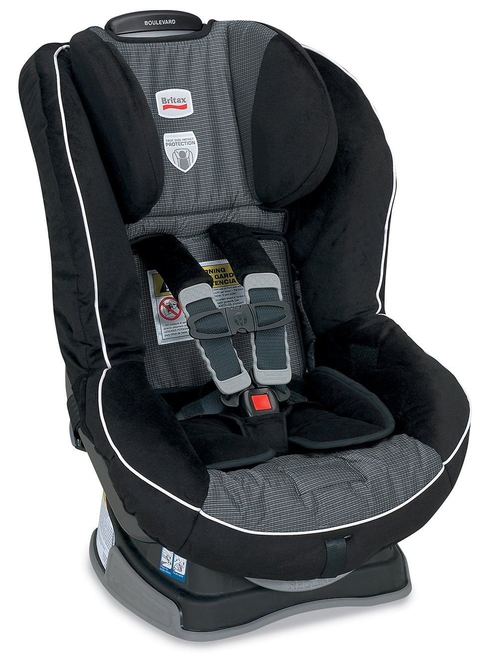 Amazon.com : Britax Boulevard G4 Convertible Car Seat, Onyx (Prior ...