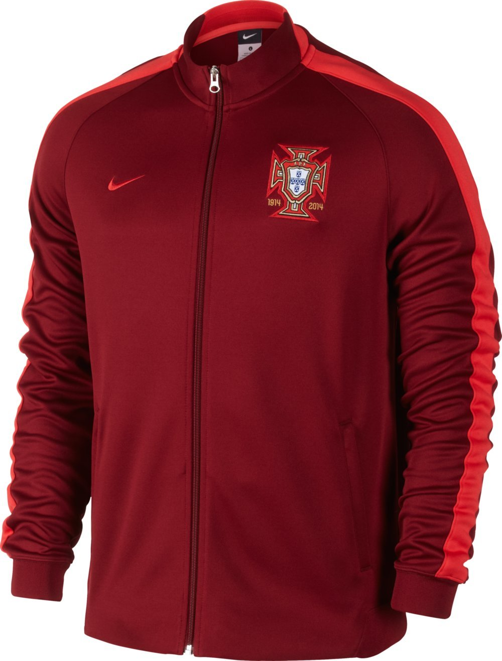 2014-15 Portugal Nike Authentic N98 Jacket (Red) 589860-677-S