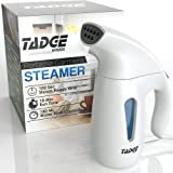 Amazon Price History for:Travel Steamer For Clothes Wrinkle Remover – 180ml Portable Hand Held Vapor Iron Garment Steamer – Press, Sterilize, & Clean Fabric Tops, Shirts, Pants, Suits, & Curtains – Fast Heat Up