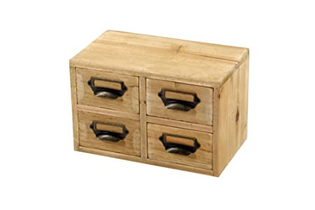 Merveilleux Wooden Storage Drawers Home Office Unit   4 Drawers