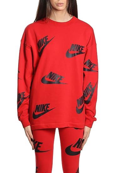 Nike Sportswear Sweatshirt rotem 657 AA3142 Damen Stoff in 7vb6Yyfg