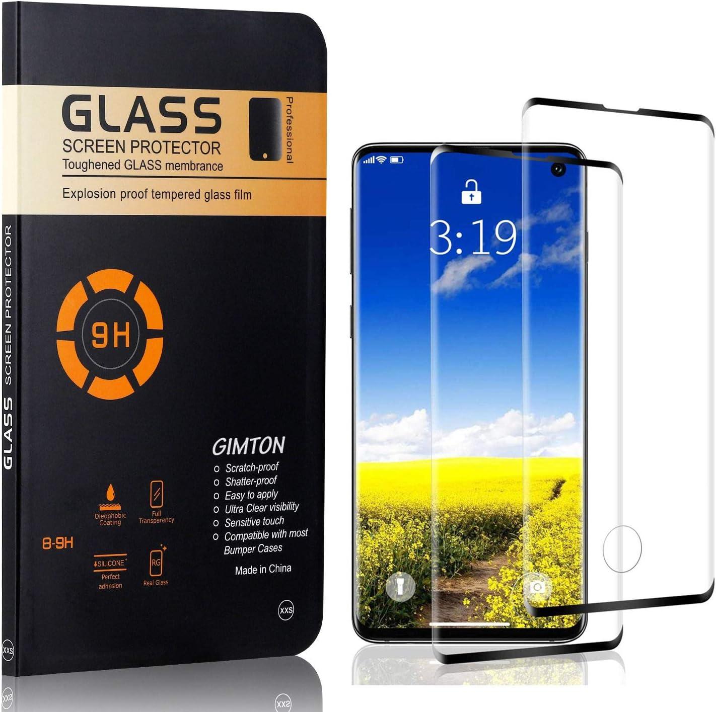 Duret/é 9H Protection en Verre Tremp/é /Écran pour Samsung Galaxy S10 GIMTON Verre Tremp/é pour Galaxy S10 2 Pi/èces Ultra Transparent sans Poussi/ère