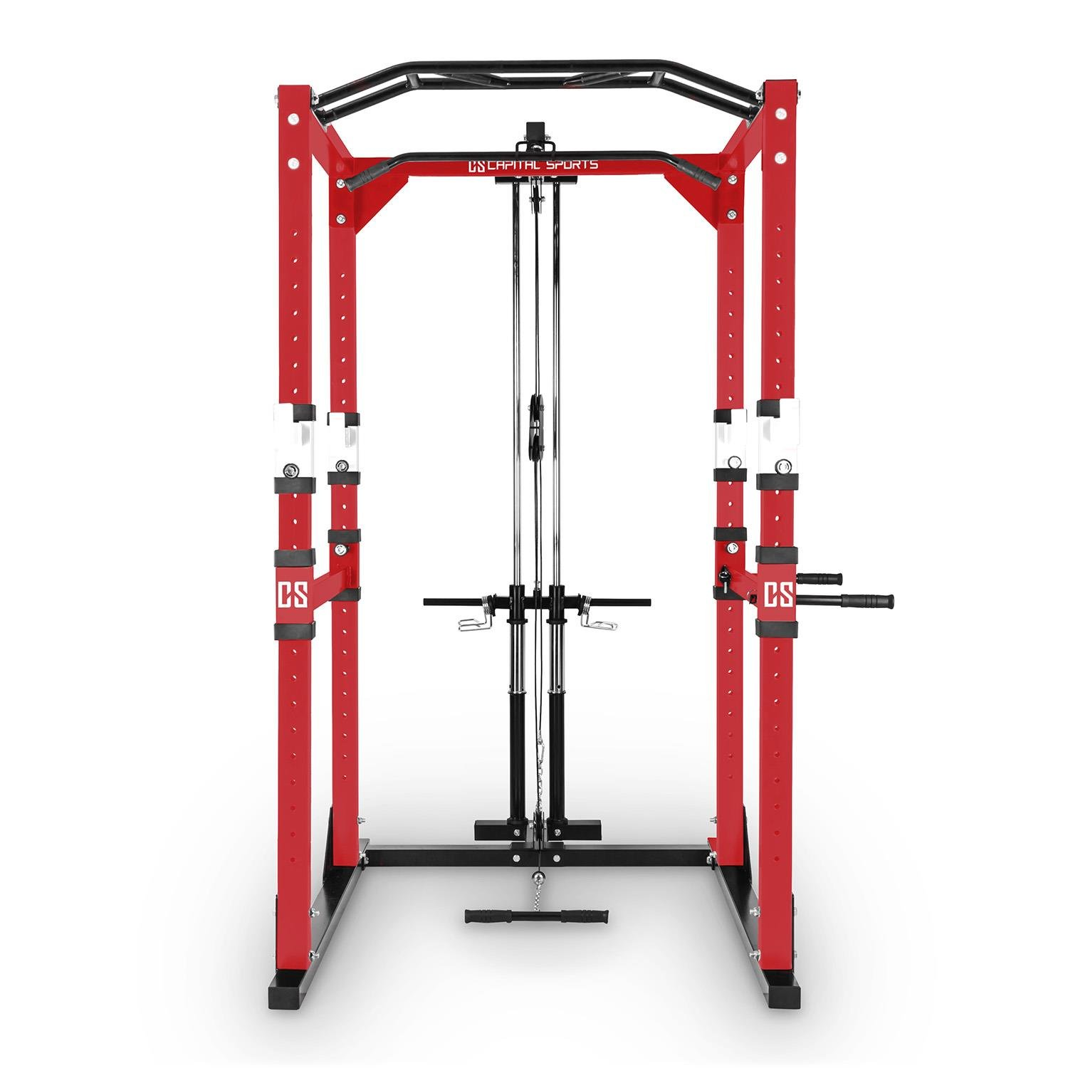 Capital Sports Tremendour Pl Potencia Rack Homegym de poleas de ...