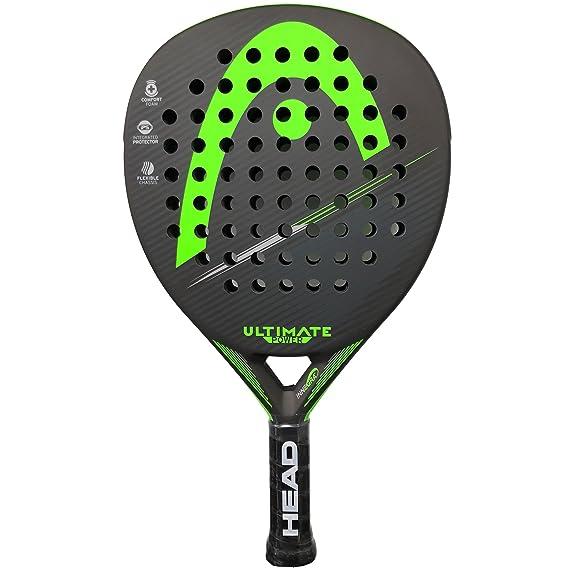 Head Pala de Padel Ultimate Power Green 2018: Amazon.es: Deportes ...