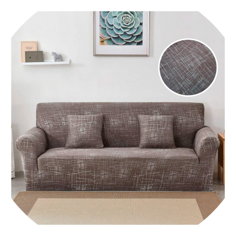 Amazon.com: shine-hearty Elastic Sofa Cover Washable Couch ...