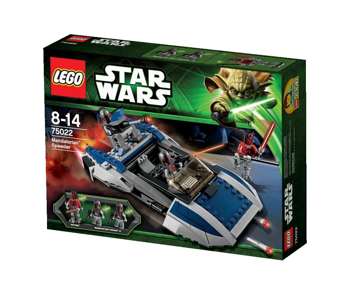 amazoncom lego star wars mandalorian speeder 75022 toys games - Lego Star Wars Vaisseau Clone
