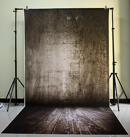 150x300cm Waschbar Dunkelgrau Fotografie Hintergrund Kamera