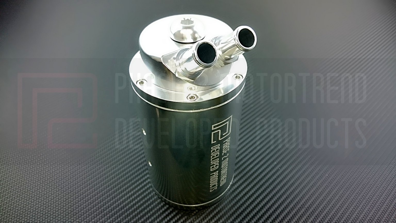 P2M Nissan Large 480cc Oil Catch Tank (Universal) P2-OCT480V2-GD