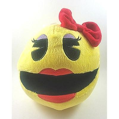 "Pac-Man Ms 7"" Plush: Toys & Games"