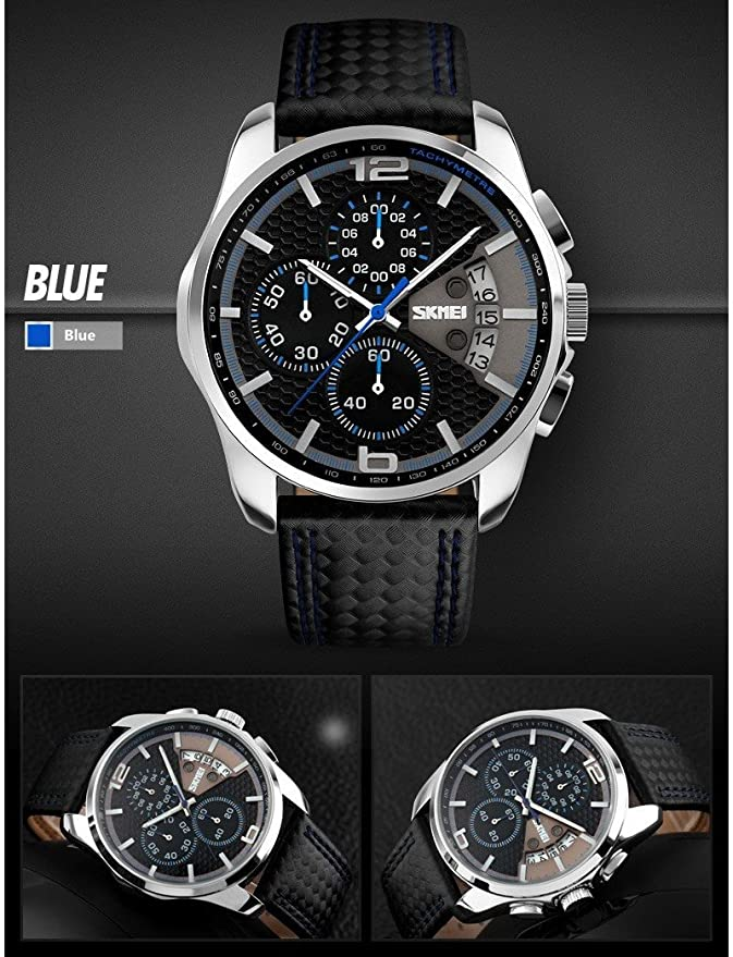 Amazon.com: Relojes de Hombre Sport LED Reloj Hombre Men Digital Military Water Resistant Watch RE0028: Watches
