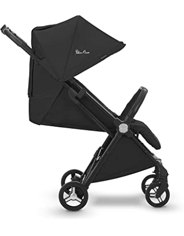 Silver Cross Jet Travel Stroller, Lightweight and Cabin Approved Pushchair – Ebony(UK)